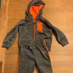 Toddler Nike sweatsuit